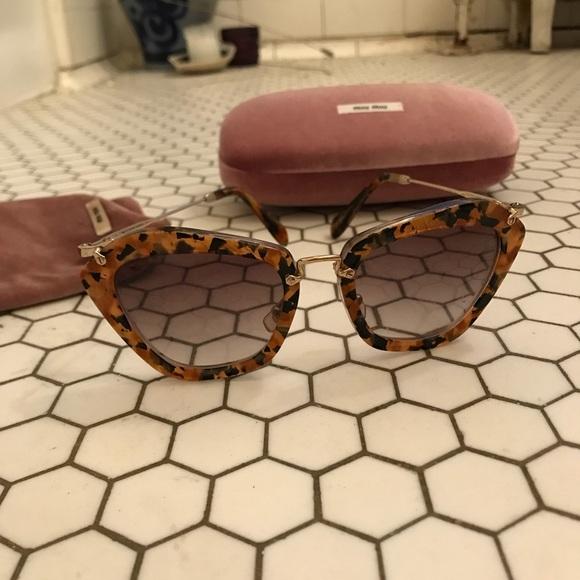 "01e3eb16680aa Miu Miu ""Noir"" sunglasses in Havana tortoise. M 5b441077d6dc52c3c0995119"